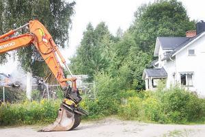 Intill ligger det före detta ritkontoret i den äldre delen av före detta Trima/Bergsjöverkens fabriksområde.