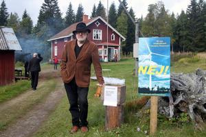 Gunnar Lindholm är en av medlemmarna i föreningen Borta Med Vinden