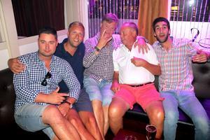 Andreas, Micke, Tomaten, Chefen, Fares.
