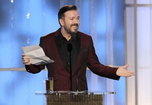Den brittiske komikern Ricky Gervais ledde Golden Globe-galan för tredje året i rad. Efter förra årets omdiskuterade insats var han något lenare i munnen och mer sofistikerad i år.