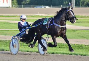 Hästen Björs Frej slog banrekord på Hagmyren när han vann v64-finalen med kusken Ulf Ohlsson.