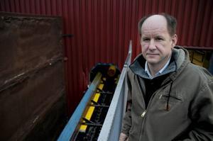 Christopher Larsson, platschef på sågverket i