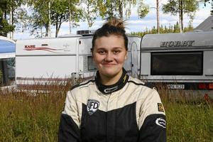 Jessica Persson vid en annan tävling.