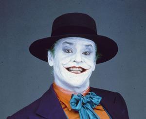 The Joker – gestaltad av Jack Nicholson i Batmanfilmen från 1989.