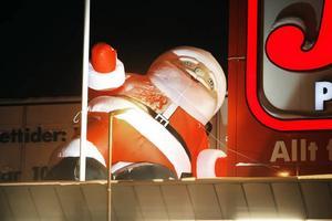 KLAPPAT OCH KLART. Tomten svajar inför julen.
