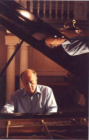 Fixade allt. John Lill, brittisk pianovirtuos.