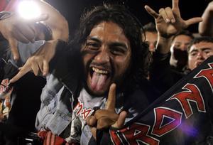 Fans på spelning i, Costa Rica 2009.