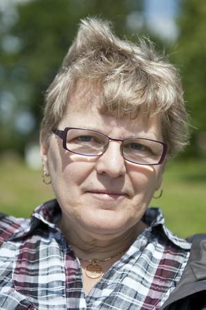 """Margareta Alexandersson, 60 år, Mariestad:–Psalm 23, """"Herren är min herde, ingenting skall fattas mig. Han för mig i vall på gröna ängar, han låter mig vila vid lugna vatten ...""""."""