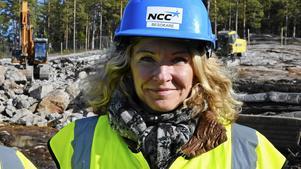 Ann-Louise Gustafsson, försäljningschef för SHH Bostad.