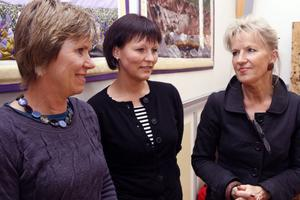 Regina Bendrik, samordnare folkhälsoenheten, Anna Valsberg, Ljusdals Rehab och Mai-Lis Hellénius, Livsenheten, Karolinska institutet.