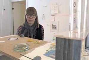 Harpa Dögg Kjartansdóttir, konstnär från Island som nu är bosatt i Stockholm.