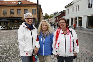 Lenneke Sundblom, Ann Lewerentz och Margareta Lundgren.