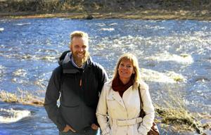 Mattias Wärn och Maria Brolin.