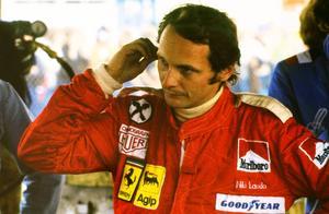 Niki Lauda var på topp