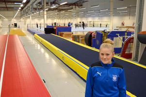 Borlänge gymnastikklubb firar den första, egen hallen Diöshallen. Ordförande Caroline Sandström ser fram emot invigningen på lördag.