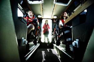Magnus Östlund, Ullrica Alderback och Gabriela Brink är redo att rädda liv och egendom till sjöss.