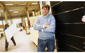 Timo Lehtola, vd på Dooria AB, ser konkurrensen med produktion i låglöneländer som orsaker till den förväntade minskade orderingången. Tio personer sägs upp från från företaget.FOTO: STAFFAN BJÖRKLUND