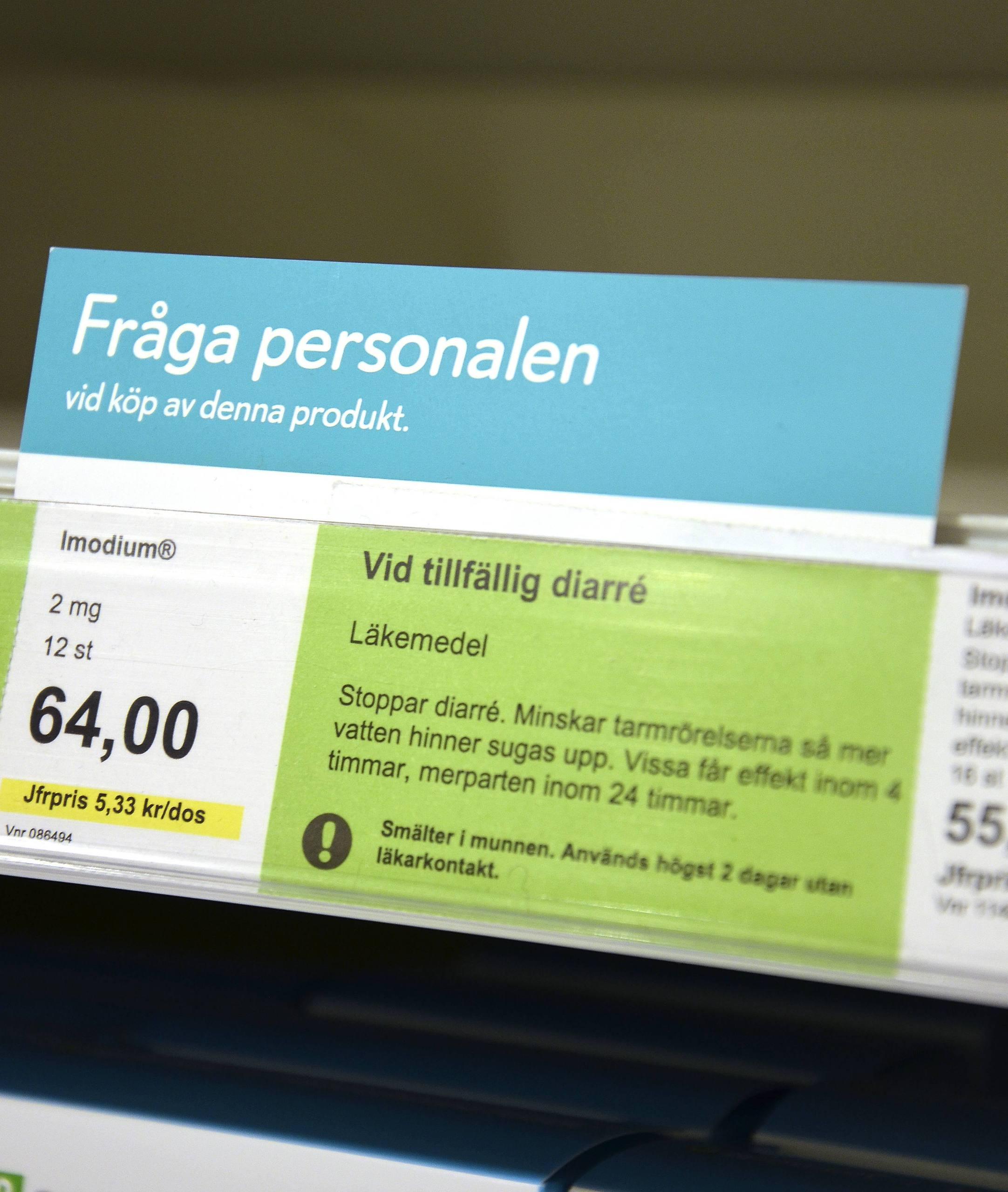 mot diarre apoteket