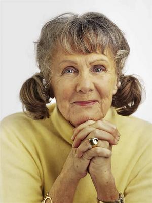 Gullan Bornemark fyller 90 år nästa år. Men sjunger gör hon än.