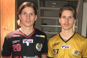 Foto: arkiv/privat. Lucas och Kevin Rigogiannis väljer att stanna i Nykvarn.