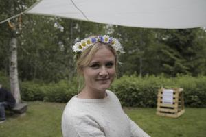 Evelyn Holmudden, 31, Skinnskatteberg, studerande: En gång i veckan kanske. Det händer då och då.