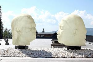 Glasfiberskulpturerna