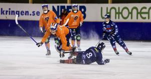 Hans Andersson stöter på patrull efter en av sina många uppåkningar.