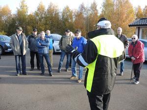 Genomgång, med Säker Trafik ABs VD, Hans Moberg, i spetsen.