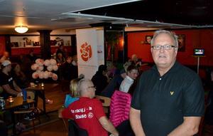 Socialdemokraterna vann valet i Ånge, men trots det var det många bekymrade miner på valvakan på grund av Sverigedemokraternas succéval.