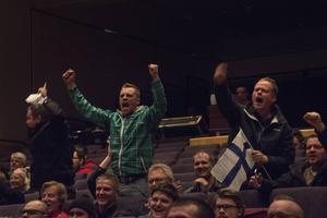 Vilda finska fans jublade när Simon Kankkonen tog hem bronset.