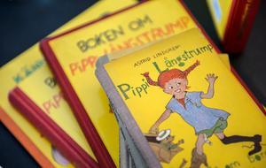 Astrid Lindgrens böcker om Pippi Långstrump väcker nu ständigt debatt på grund av ord och värderingar i berättelserna.   Foto: Anders Wiklund / TT