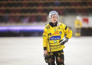 Jonas Engström gav Broberg ledningen i den andra halvleken. Men Vetlanda vände och vann.