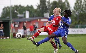 Filip Norgren kvitterar till 1-1. Foto: Mikael Stenkvist