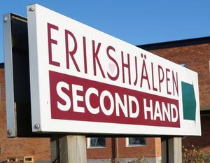 Erikshjälpen söker volontärer till sin nya butik i Borlänge.