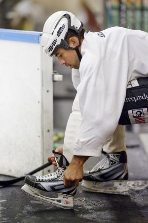 Magnus Nilsson är redo för debut i Hudik Hockey.