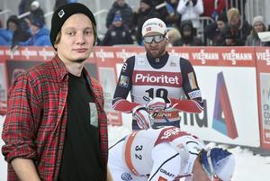 Sportens Björn Daniels tycker att Petter Northugs deltagande i Falun blev platt fall, på alla sätt och vis.