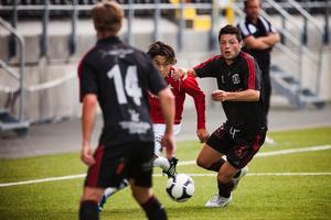 Jonathan Lundbäck kan trots andra platsen stoltsera sig som division 3:s bästa målskytt med 21 mål.