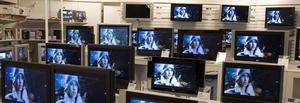 Ett 30-tal arbetstillfällen skapas när Siba, ett av Sveriges ledande detaljhandelsföretag inom hemelektronik, etablerar sig i ett nytt varuhus på regementsområdet i Falun våren 2008. Foto: Bertil Ericsson/Scanpix/arkiv