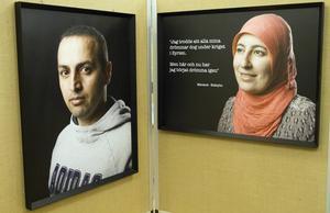 I utställningen har nysvenskar i Edsbyn fått berätta om sina innersta tankar.