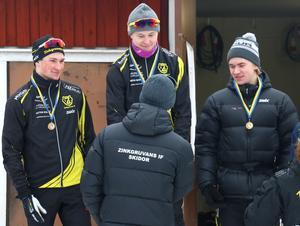 Zinkgruvans IF tog storslam på juniorernas herrsida. Markus Johansson blev etta, Oscar Johansson tvåa och Olle Windahl trea.