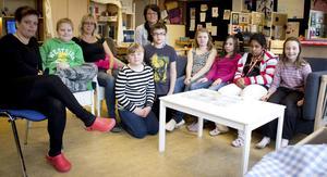 Barn i årskurs 3 till 6 på Nyckelbergsskolans grundsärskola har jobbat i ett projekt kallat Konstplaneten.