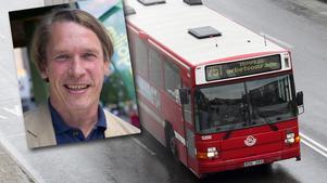 Mats Pertoft (MP) vill införa kollektivtrafikbonus.