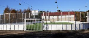 Ullångers multiarena kan användas för sporter som fotboll, handboll, basket, innebandy och skridskor.