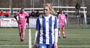 Alexandra Simonsson är klar för spel i Avesta AIK:s division 2-lag den kommande säsongen. Foto: Sofia Fors