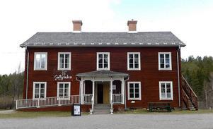 Gullgården – en av de byggnader som finns på Norra berget.