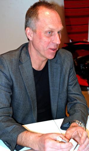 Hans Hassle, vd för Plantagon International med rötter i Västberg, Rättvik jobbar ideellt med Meteorum.