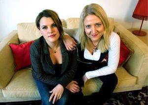 Komikerduon Mia Skäringer och Klara Zimmergren.x