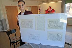På lördag blir det vernissage med Kaj Franklins konst, som också utgör bibliotekets sommarutställning. Säters kommuns kultursekreterare Isabelle Felczak visar upp några av bilderna.
