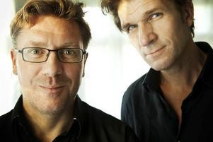 Nordkorea-bokens författare Magnus Bärtås och Fredrik Ekman