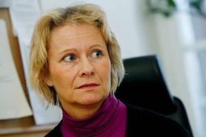 Karin Segersten, skolsköterska på Jämtlands Gymnasium Wargentin.Foto: Henrik Flygare